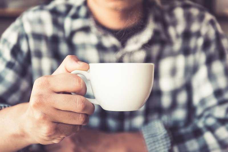drinking coffee los angeles